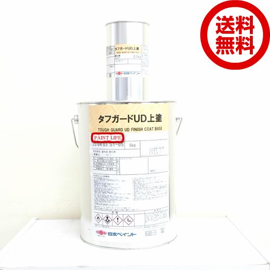 【送料無料】日本ペイントタフガードUD上塗白 5.5kgセット