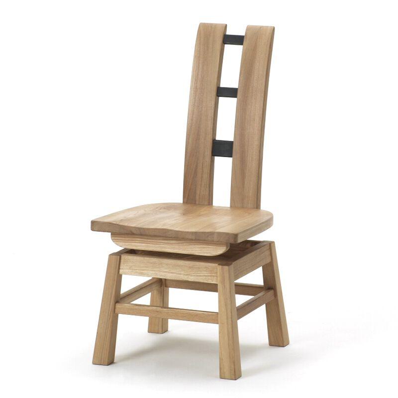 【送料無料】古彩 回転チェアC200【チェア 木製】【椅子 木製】【ダイニングチェア】