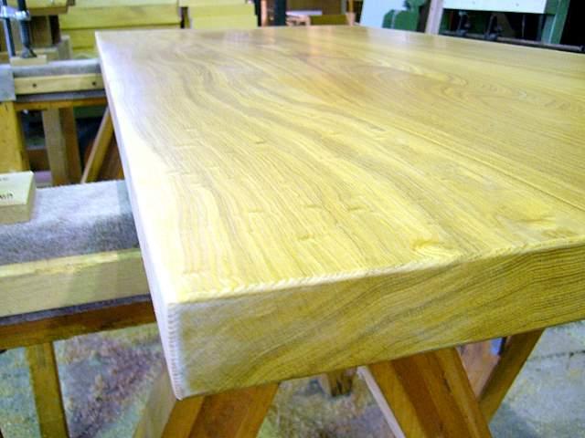 ■無垢のテーブル:オプション加工ストレート加工■