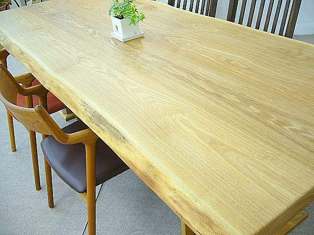 簡易オーダーテーブル樹種:タモ