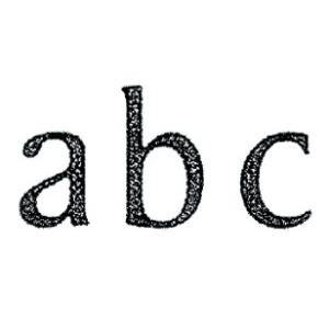 ブラックブラス 黒真鍮製 欧風金物 アンティークパーツ アクセサリー 通常便なら送料無料 ブラスレター RusticDeco ■letter45mm H45 超人気