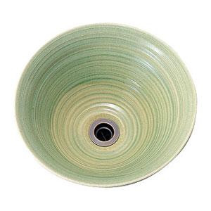 【Essence】手洗器手作り手洗鉢 Mサイズ玻璃(ビードロ)