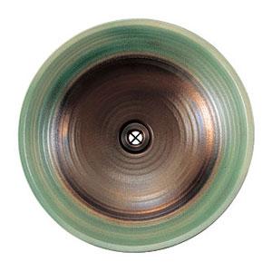【Essence】手洗器手作り手洗鉢プレミアム Sサイズ常盤木(ときわぎ)