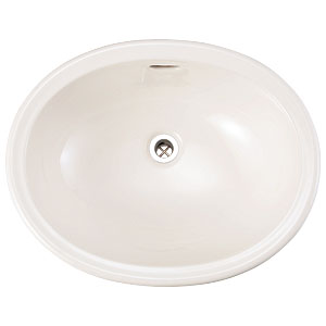 【Essence】洗面器Mオーバルスロウカラーズ リネン