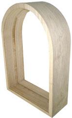 送料無料 ステンドグラス ピュアグラス SH-K05/06専用木枠 【三層ステンドグラス/窓/ガラス/ピュアグラス/ステンドグラス】