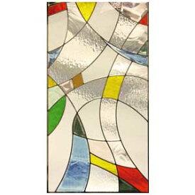 ステンドグラス ピュアグラス SH-A12 【三層ステンドグラス/窓/ガラス/ピュアグラス/ステンドグラス】