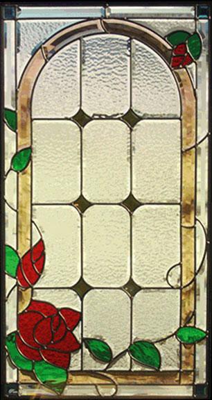 送料無料 ステンドグラス ピュアグラス SH-A16 【三層ステンドグラス/窓/ガラス/ピュアグラス/ステンドグラス】