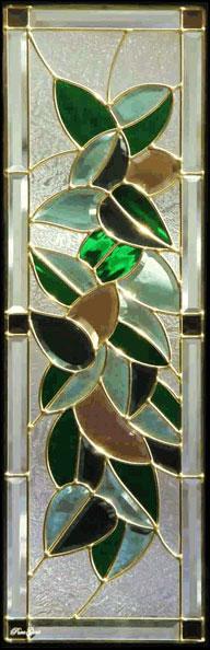 送料無料 ステンドグラス ピュアグラス SH-C18 【三層ステンドグラス/窓/ガラス/ピュアグラス/ステンドグラス】