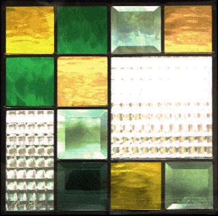 送料無料 ステンドグラス ピュアグラス SH-E04 【三層ステンドグラス/窓/ガラス/ピュアグラス/ステンドグラス】
