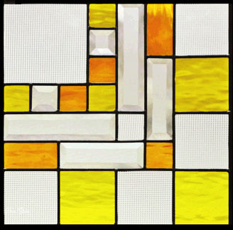 ステンドグラス ピュアグラス SH-F04 【三層ステンドグラス/窓/ガラス/ピュアグラス/ステンドグラス】