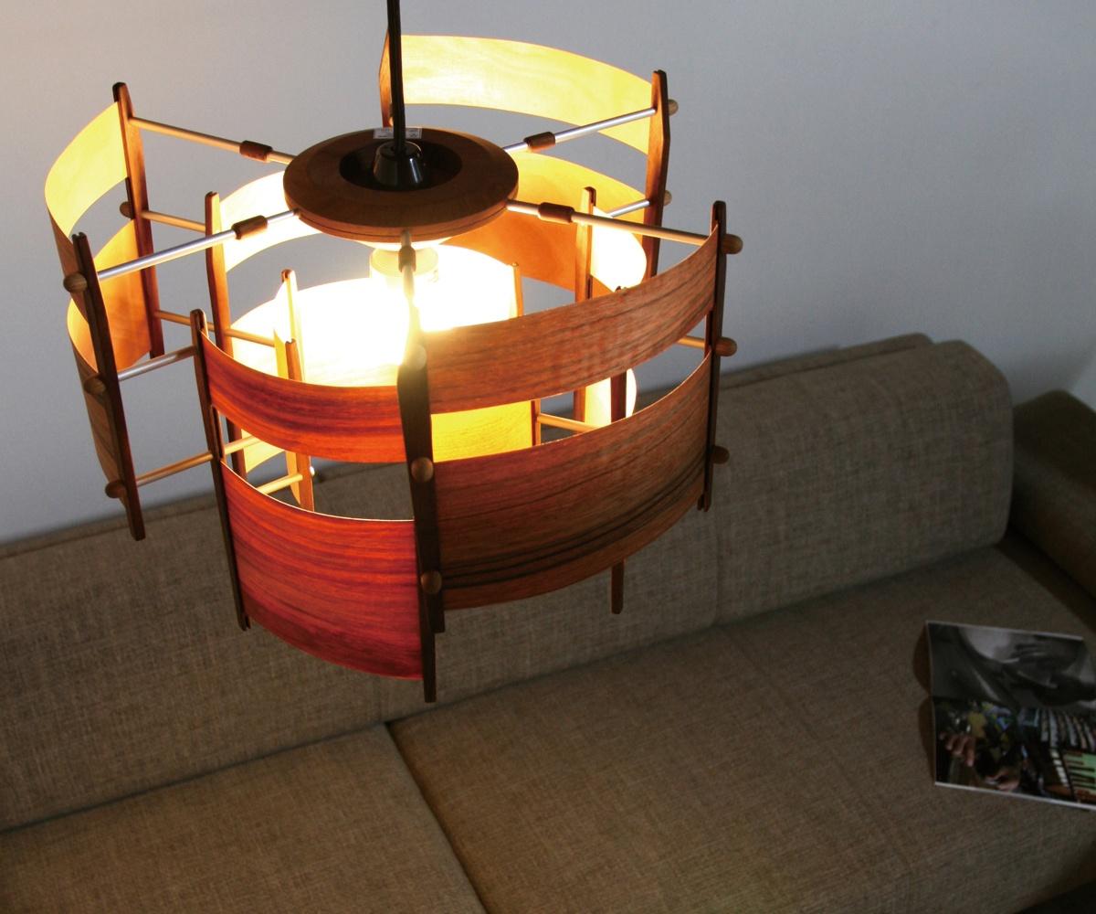 【ペンダントライト 木製】旭川クラフト 工房 灯のたね Aurora(オーロラ)