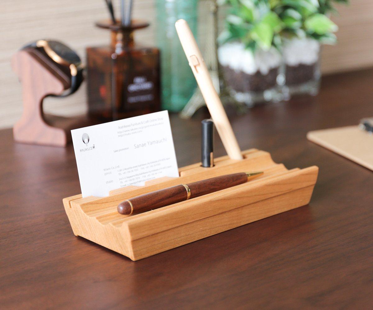 【ペン立て 木製】旭川クラフト 木 ライフ プロダクト PENトレイ