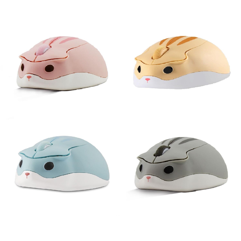 ワイヤレスマウス ハムスターシェイプ 可愛い動物デザイン 静音 ワイヤレス 無線 USB 2.4Ghz ハムスター 流行のアイテム かわいい 動物 人間工学 おしゃれ 女の子 パソコン 小型 マウス Macbook 子供 軽量 PC 限定価格セール