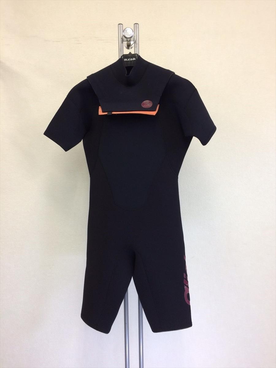 中古ウェットスーツ /フラップジップ半袖スプリング/サイズ《メンズLB》サーフィン