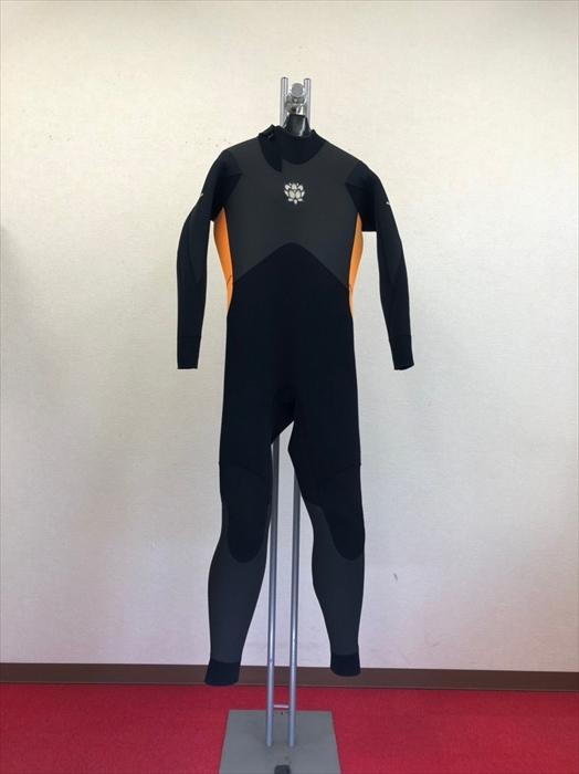 中古ウェットスーツ・バックジップフルスーツ/サイズ《メンズ ML》・ボディボード専用ウェットスーツカルマ
