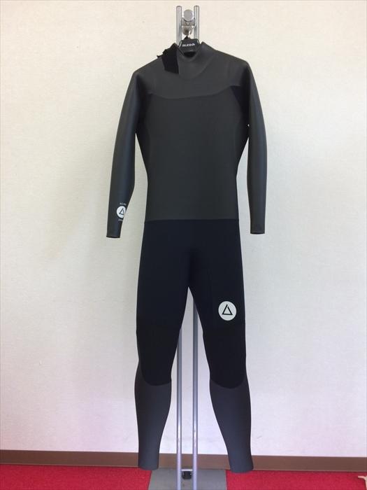 新古ウエットスーツ/バックジップ/メンズML/サーフィン