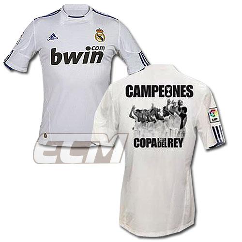 【SALE】レアルマドリード 2011コパ・デル・レイ優勝記念ユニフォーム【スペイン国王杯/リーガエスパニョーラ/C.ロナウド/Real Madrid】 REAL01