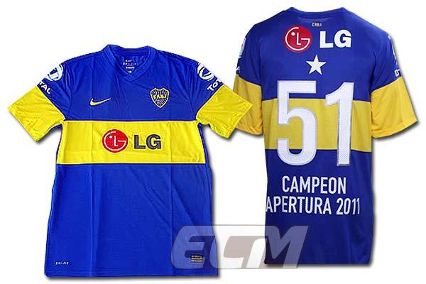 ボカジュニアーズ アペルトゥーラ2011 優勝記念モデル【リケルメ/11-12/アルゼンチンリーグ/サッカー/Boca】