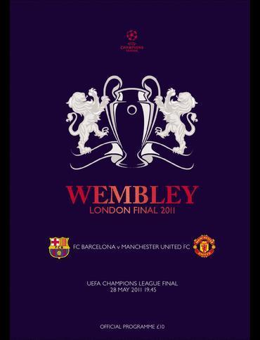 予約PRO11 開店祝い 2011 チャンピオンズリーグ決勝プログラム FCバルセロナvsマンチェスターユナイテッド サッカー CHAMPIONS LEAGUE WEMBLEY 激安 激安特価 送料無料 FINAL UEFA