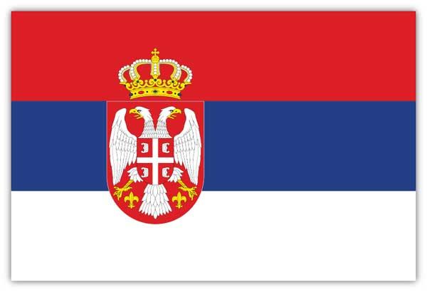 【サポーター必見】セルビア 国旗フラッグ【サッカー/Jリーグ/応援グッズ/ワールドカップ/オリンピック】ネコポス対応可能