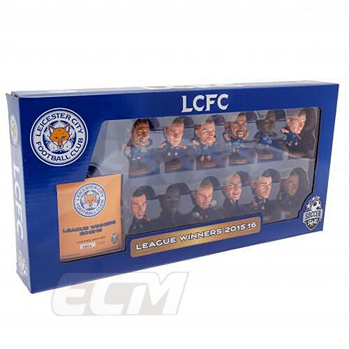 Leicester City 未使用品 SOCCERSTARZ サッカー サッカーフィギュア 国内未発売 プレミアリーグ優勝記念 SSZ02サッカースターズ 限定チームパック 15-16シーズン 12体セット レスターシティ お得クーポン発行中
