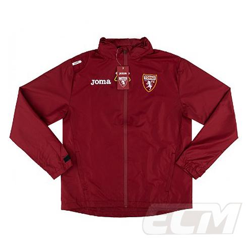授与 19-20 サッカー お買い得品 セリエA Torino トレーニング 予約ECM32 国内未発売 エンジ 825 20-21 トリノ レインジャケット SALE
