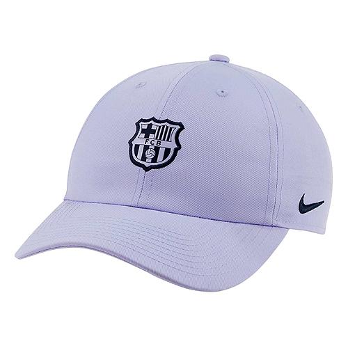 国内未発売 FCバルセロナ H86 ヘリテージ キャップ [並行輸入品] パープル お得 CAP 帽子 サッカー BARCELONA K430 スペインリーグ