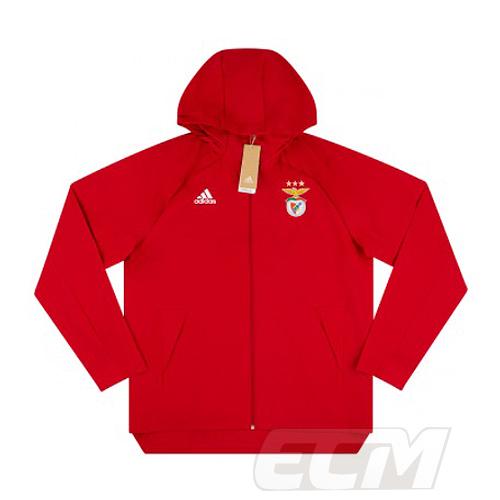 予約ECM32 SALE 国内未発売 ベンフィカ レインジャケット レッド ポルトガルリーグ 現金特価 サッカー Benfica 20-21 トレーニング SALENEW大人気 330