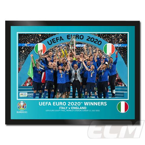 EUROS003 予約EFO21 UEFA公式 EURO2020 イタリア代表 優勝記念フォト デポー
