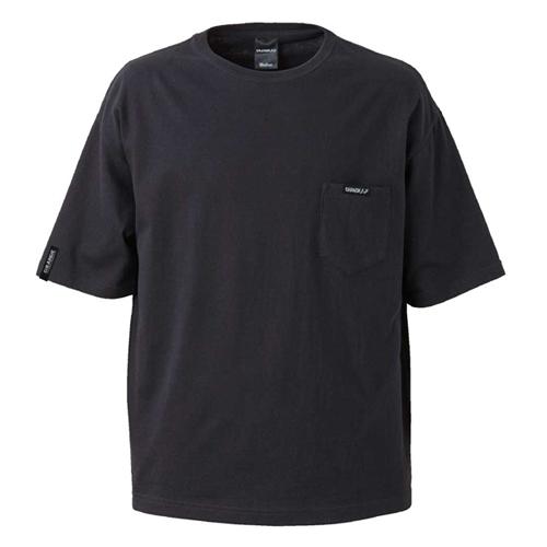 グランデ サッカー フットサル ビッグシルエット オススメ 売買 FP 賜物 ルーズフィットポケットTシャツ ネコポス対応可能 GFPH20015GRANDE ブラック