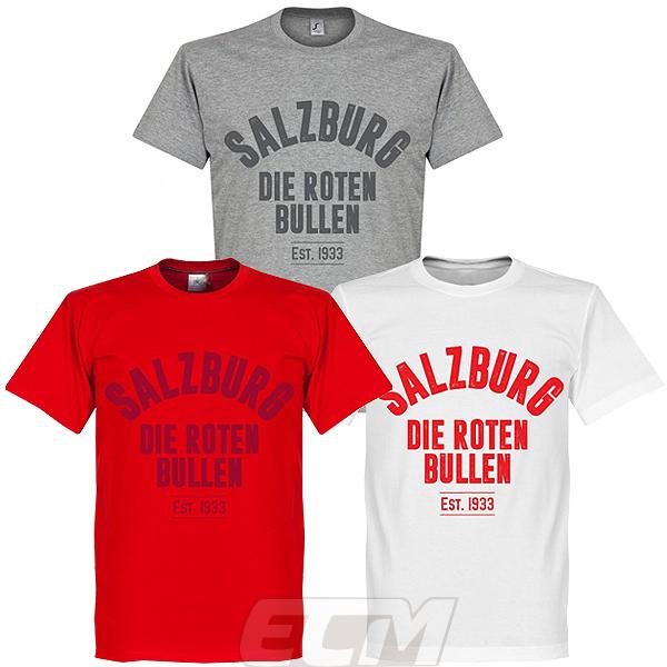 予約RET05 国内未発売 RE-TAKE ザルツブルク Establishシリーズ Tシャツ Bull オーストリアリーグ ネコポス対応可能 Salzburg Red サッカー 激安 日時指定 激安特価 送料無料