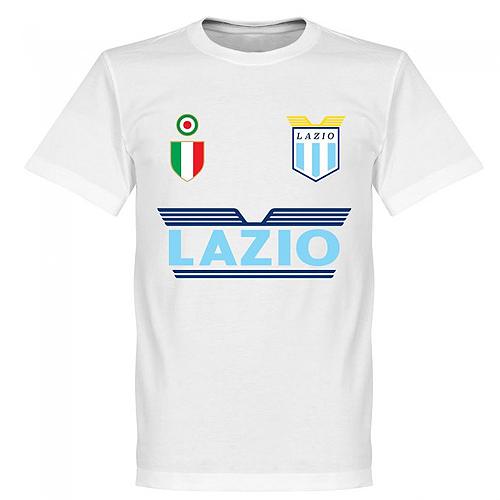 人気の製品 予約RET06 RE-TAKE ラツィオ Team Tシャツ ネコポス対応可能 Lazio 2020 新作 セリエA サッカー ホワイト