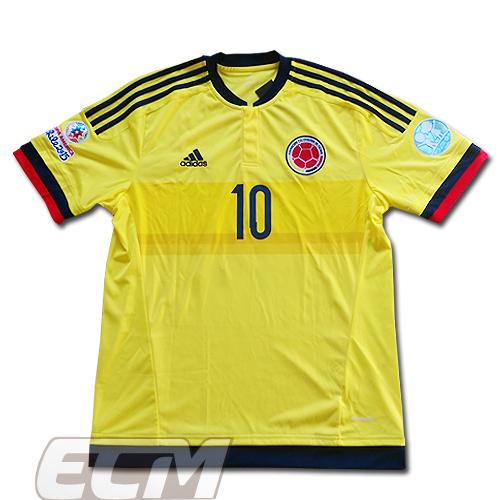 【激レア】【国内未発売】コロンビア代表 ホーム 半袖 10番ハメス・ロドリゲス コパ・アメリカ2015 フルモデル【サッカー/ワールドカップ/COPA AMERICA/JAMES】