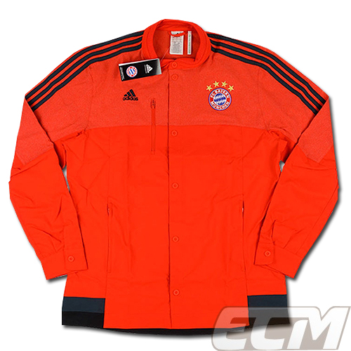 【予約ECM32】バイエルンミュンヘン アンセムジャケット レッド【14-15/ブンデスリーガ/サッカー/Bayern Munchen】330