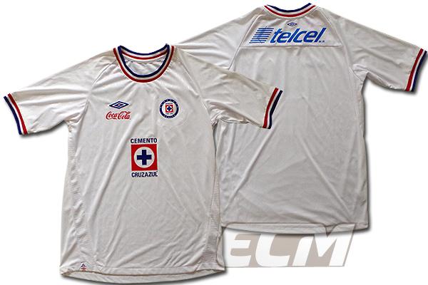 【SALE】クルス・アスル アウェイ 半袖【UMBRO/10-11/Cruz Azul/メキシコリーグ】0825