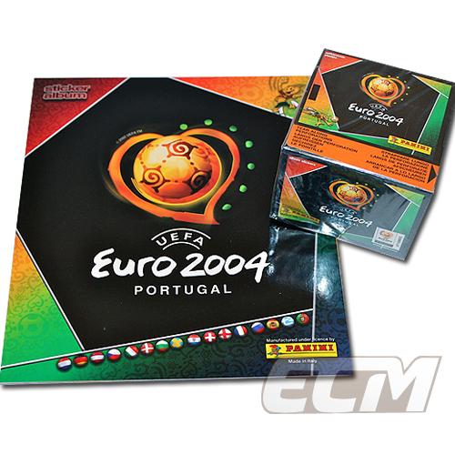 【予約ECM18】PANINI ユーロ2004 オフィシャルステッカー【サッカー/欧州選手権/コレクション/トレカ/FIFA】