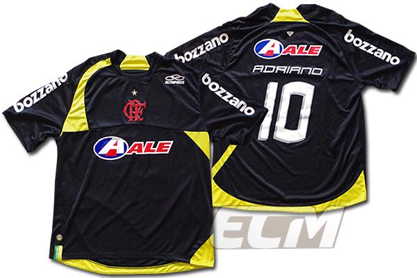 フラメンゴ トレーニングシャツ 10番 アドリアーノ【Olympikus/ブラジルリーグ/Flamengo/adriano】1004