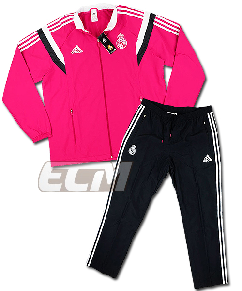 best sneakers 3e622 33a14 Real Madrid presentation track suit pink 330