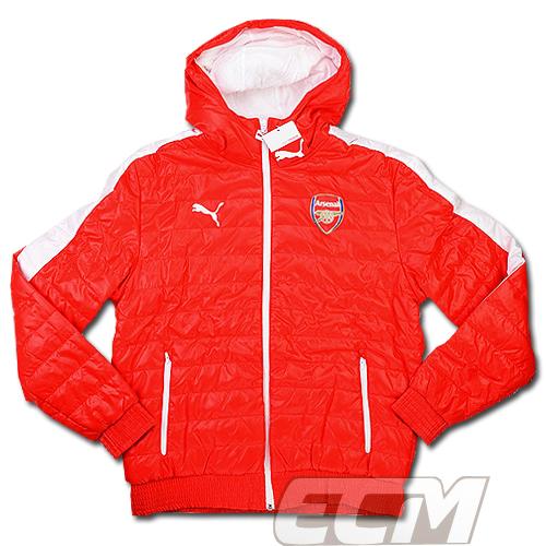 【予約ECM32】【SALE】アーセナル パッドジャケット レッド【14-15/Arsenal/サッカー/プレミアリーグ/ダウンジャケット】330