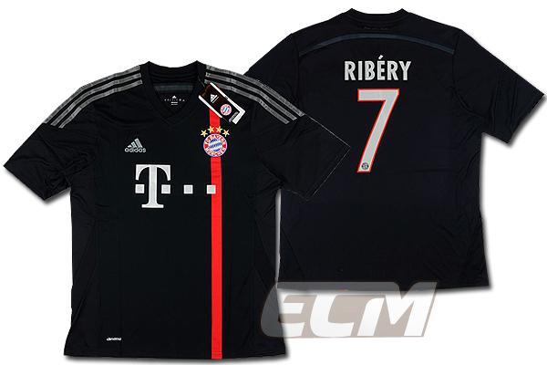 【予約ECM32】バイエルンミュンヘン サード 半袖 7番 リベリー【14-15/ブンデスリーガ/Ribery/サッカー/ユニフォーム】