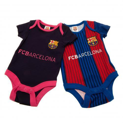 4fed6f66c1f mundial: FC Barcelona Club official rompers set of 2 | Rakuten ...