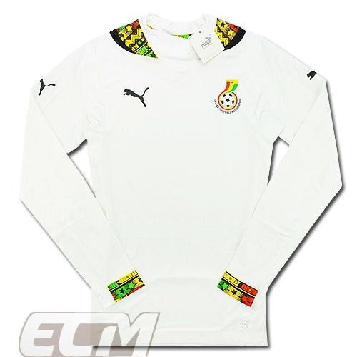 【予約ECM32】【SALE】ガーナ代表 ホーム 長袖 ACTV プレイヤーモデル【14-15/アフリカ/ユニフォーム/サッカー/Ghana】