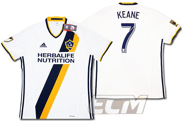 【予約ECM32】【国内未発売】ロサンゼルス・ギャラクシー ホーム 半袖 7番ロビー・キーン【16-17/MLS/LAギャラクシー/Keane/ユニフォーム/サッカー】