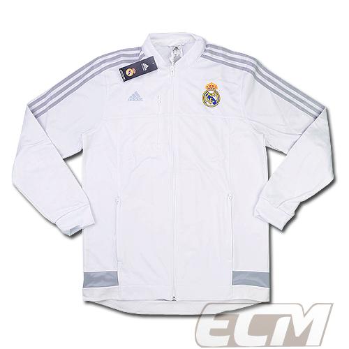 激安特価  【予約RMD08】レアルマドリード アンセムジャケット ホワイト【15-16/サッカー/Real Madrid/スペインリーグ】お取り寄せ, 3R boutique:a84f1b8f --- construart30.dominiotemporario.com