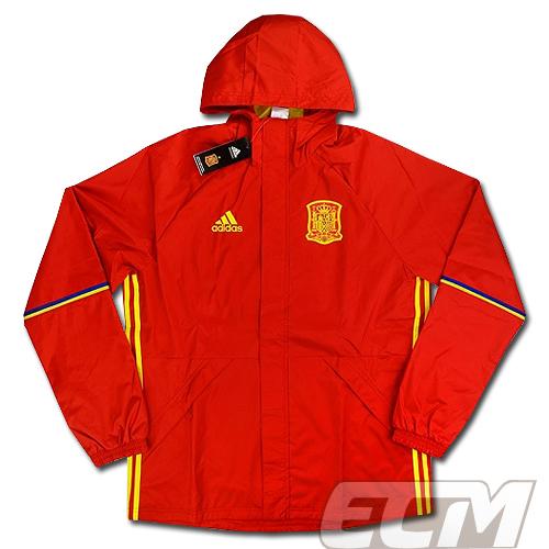 【予約ECM32】スペイン代表 プレイヤーレインジャケット 【サッカー/16-17/ワールドカップ/Spain】