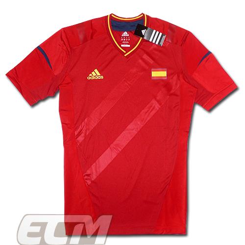 【予約ECM32】スペイン代表 2012オリンピックモデル ホーム テックフィット【2012/五輪/サッカー/ユニフォーム】