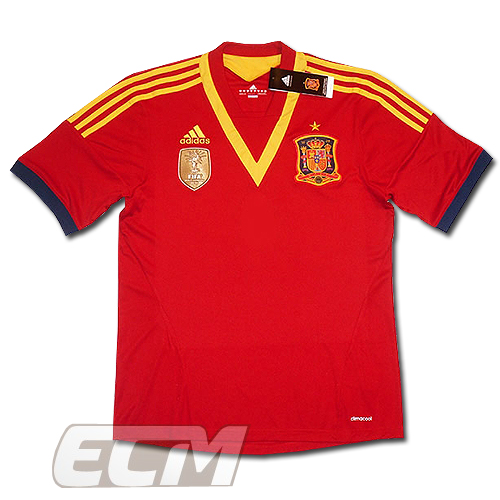 【予約ECM32】スペイン代表 ホーム 半袖 プレイヤーズモデル【12-13/ワールドカップ/サッカー/ユニフォーム】