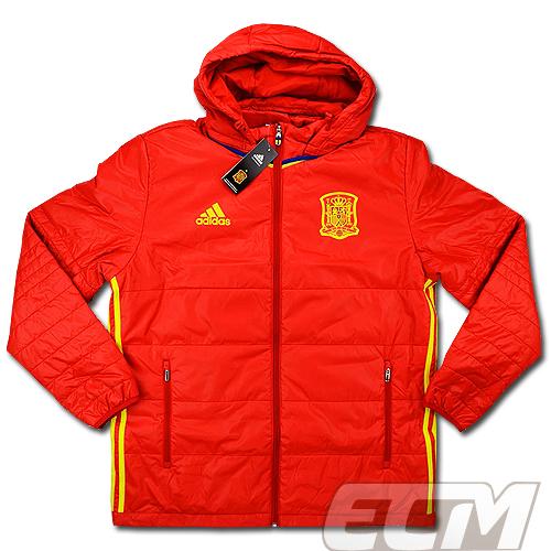 【予約ECM32】【国内未発売】スペイン代表 パッデッドジャケット【サッカー/16-17/ワールドカップ/Spain】