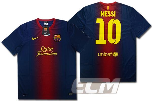 【予約ECM32】【デッドストック】FCバルセロナ ホーム 半袖 10番メッシ【12-13/リーガエスパニョーラ/MESSI/Barcelona/ユニフォーム】