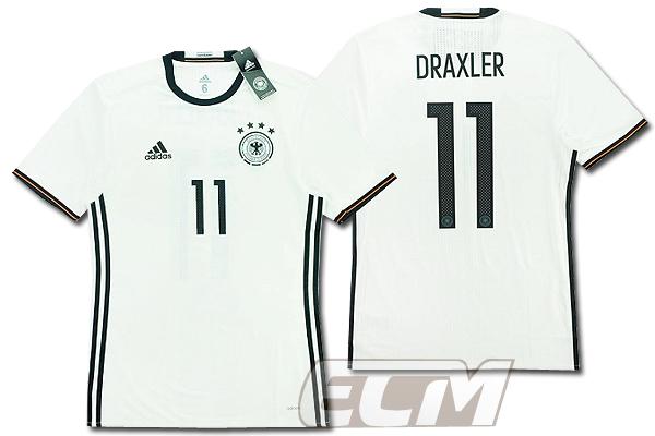 【予約ECM32】【国内未発売】ドイツ代表 ホーム 半袖 プレイヤーモデル 11番ドラクスラー【サッカー/15-16/ワールドカップ/Germany/DRAXLER】